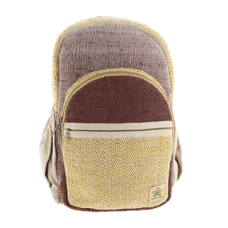 ""\""""Onaona"""" backpack, Beige jute canvas with colorful patterns""800|800|?|en|2|3de0dfdbf7c06564960f6fbf1fe96a98|False|UNLIKELY|0.35791099071502686