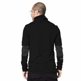 """One city\"" long sleeved shirt, Black"