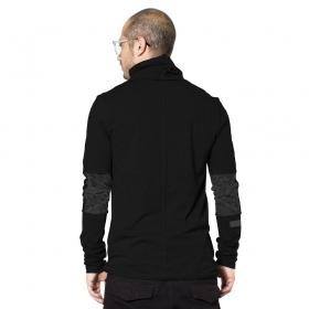 "\""One city\"" long sleeved shirt, Black"