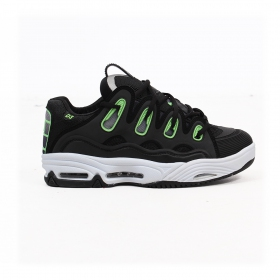 Osiris D3, Black white and green details