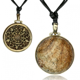 """Otoroshi Stone\"" necklace"