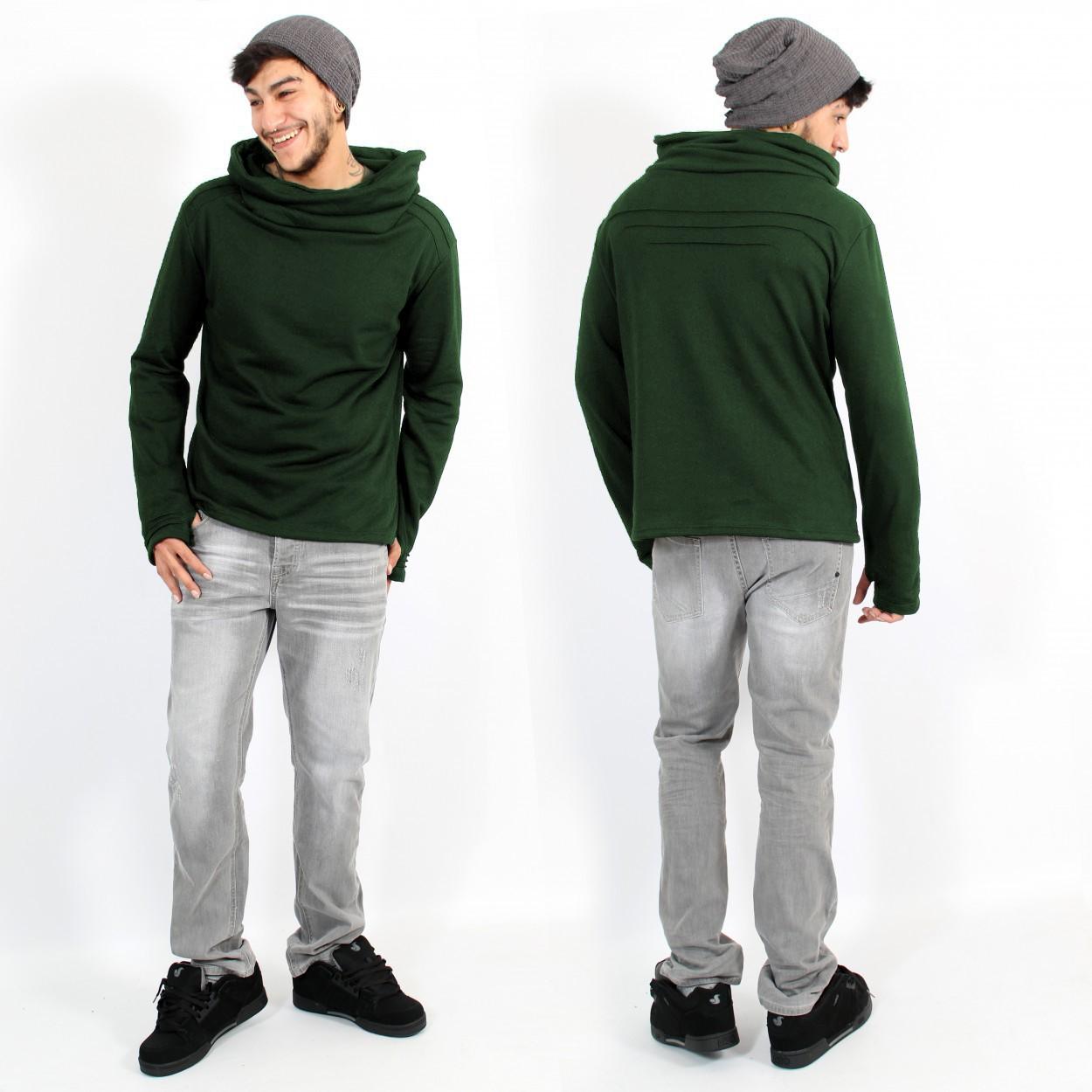 "\""Özz\"" hoodie, Green"
