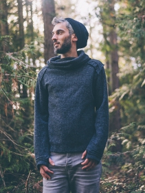 "\""Özz\"" sweater top, Grey"