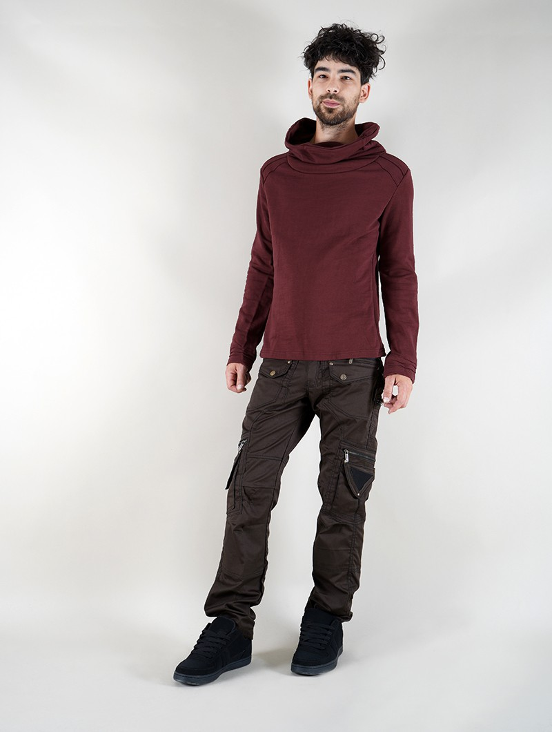 "\""Özz\"" sweatshirt, Wine"