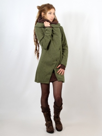 "\""Panimya\"" cardigan, Army green"