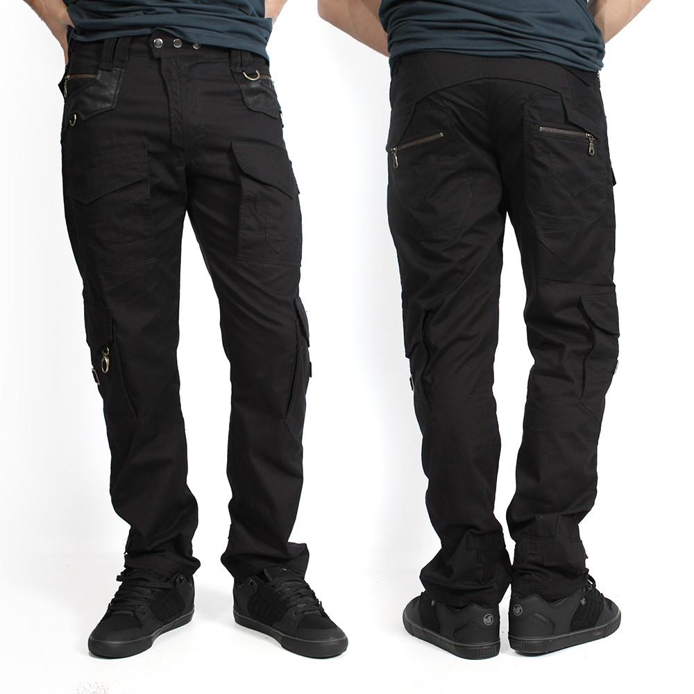 "\""Pathfinder\"" pants, Black"
