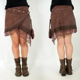 """Payoja\"" skirt, Brown"
