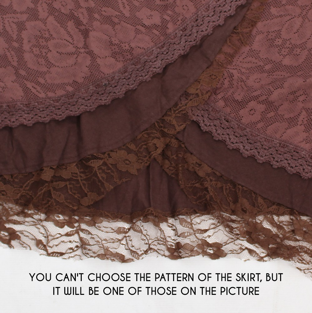 """Payoja"" skirt, Brown"