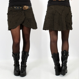 "\""Pecoa Mini\"" Skirt, Khaki"