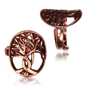 "\""Peetal Tree of Life\"" ring"