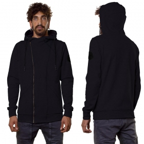 """PF02\"" zipped jacket, Black"