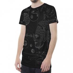 "\""Phreno\"" t-shirt, Black"