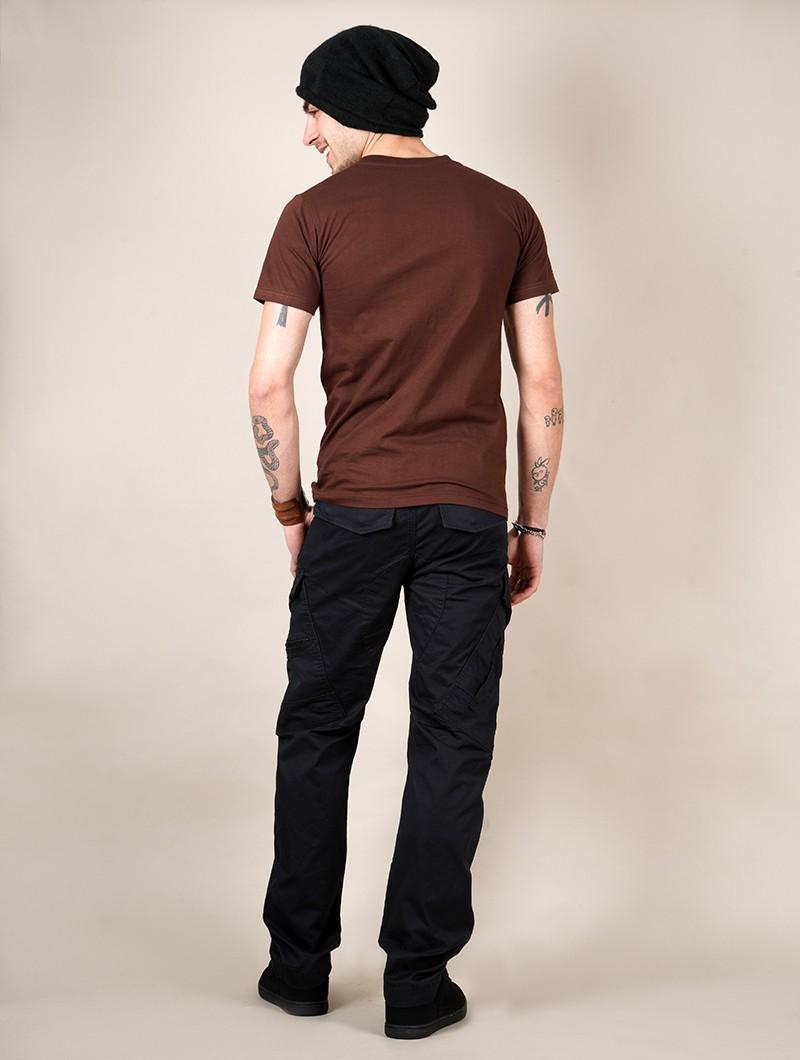 "\""Planet\"" t-shirt, Brown"