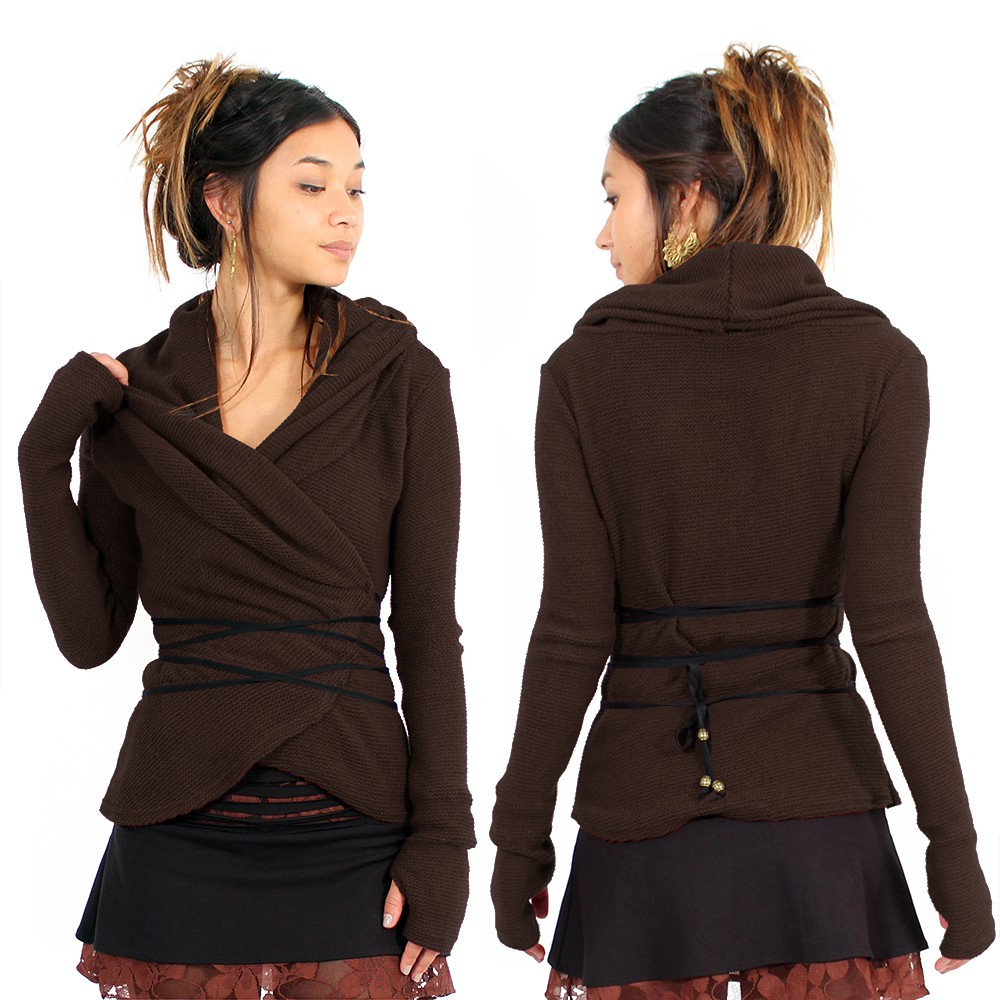 ""\""""Plume"""" wrap front Pullover, Brown""1000|1000|?|en|2|459f0e2800088978c31c6efc9f08893b|False|UNLIKELY|0.30780792236328125