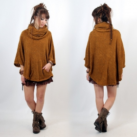 "Poncho Witch ""Taraka\"", Rusty one size"