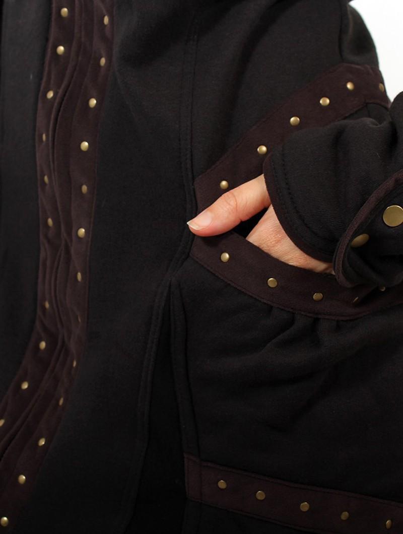 "\""Prophecy\"" coat, Black"