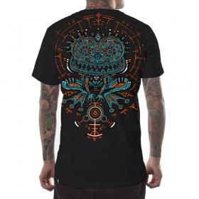 "\""Psychotoad\"" PlazmaLab t-shirt, Black"