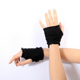 "Psylo Mini Gloves \""Lace\"", Black"
