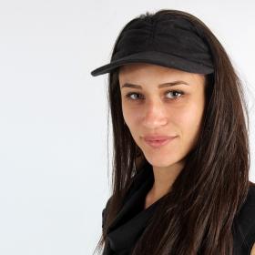 Psylo slubless cap, Black