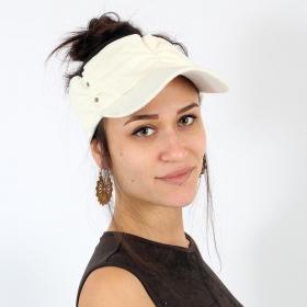 Psylo slubless cap, Off white