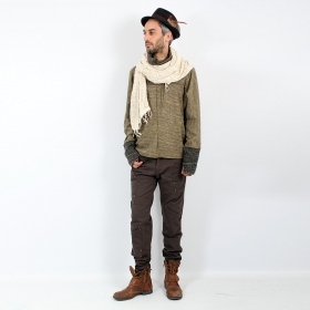 "Psylo Sweater \""Baggy\\\"", Brown"