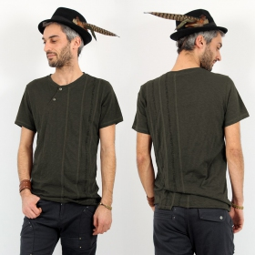 "Psylo T-shirt \""Serial\"", Olive"