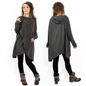 "Pull witch \""inika\\\"", dark grey one size"