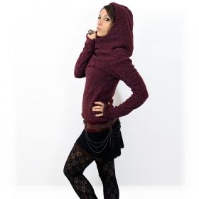 "Pullover witch \\\""sadiva\\\"", wine"
