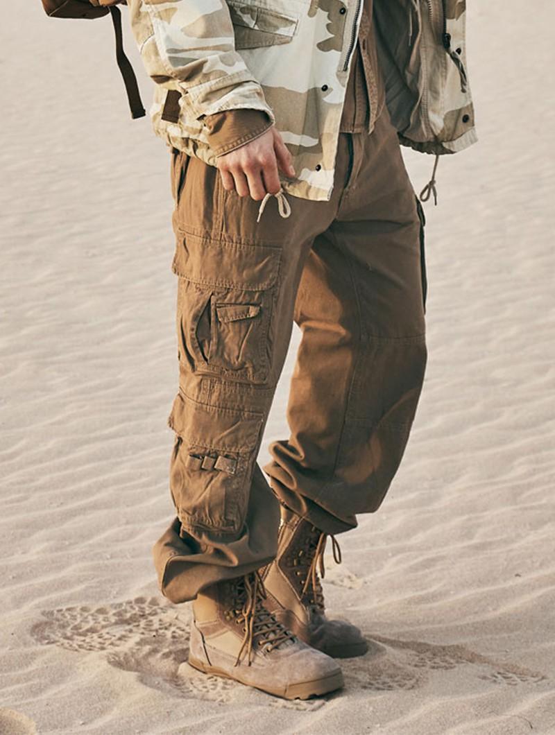 "\""Pure\"" combat trousers, Beige"