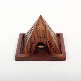 Pyramide cones incense holder