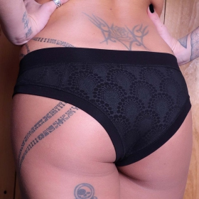 """Q-Lot Drop\"" panties, Black"
