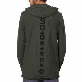 "\""Quarry\"" hoodie, Olive"
