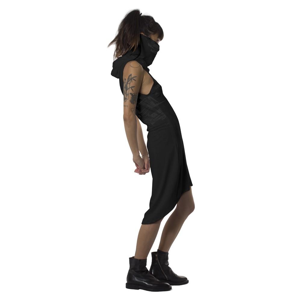 "\""Ra\"" dress, Black"