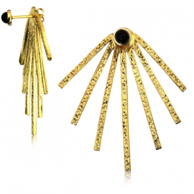 "\""Râ\"" earrings"