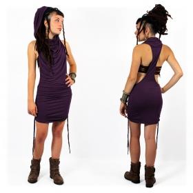 "\""Raikhik\"" tunic-dress, Dark purple"