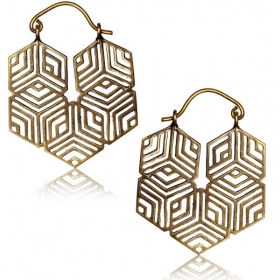 """Raji\"" earrings"