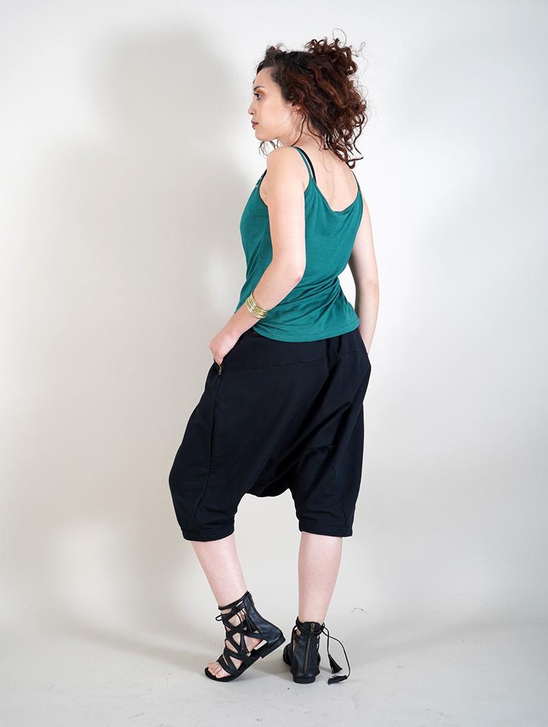 "\""Rána\"" jogging harem pants, Black"