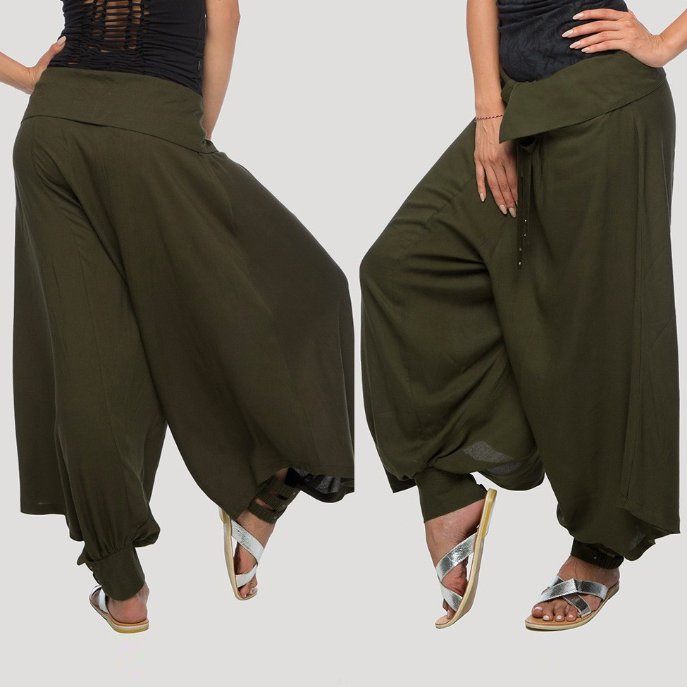 """Ray\"" Harem pants, Khaki"