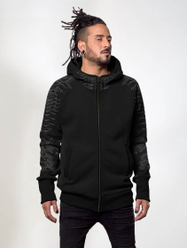 "\""Razer\"" zipped hoodie, Black"