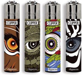 Reptilian eyes Clipper lighter