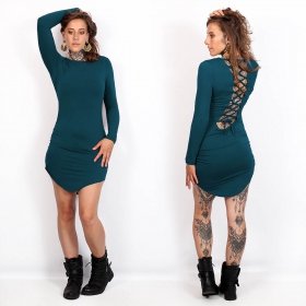 """Ritaa\"" dress, Teal"