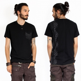 "\""Runes\"" t-shirt, Black"