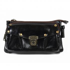 "\""Saagar\"" 2in1 purse/waist bag, Black"