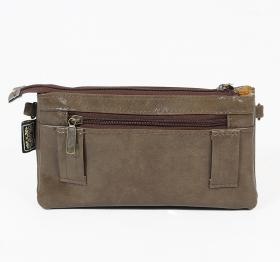 "\""Saagar\"" 2in1 purse/waist bag, Olive"