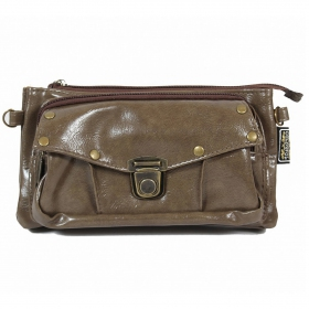 """Saagar\"" 2in1 purse/waist bag, Olive"
