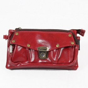 "\""Saagar\\\"" 2in1 purse/waist bag, Wine"
