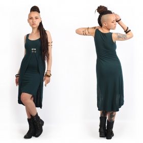 """Sabbäa\"" short dress, Dark teal"