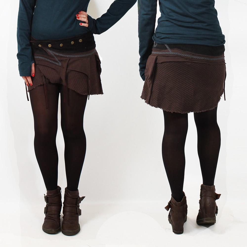 "\""Sadananda\"" skirt, Brown"
