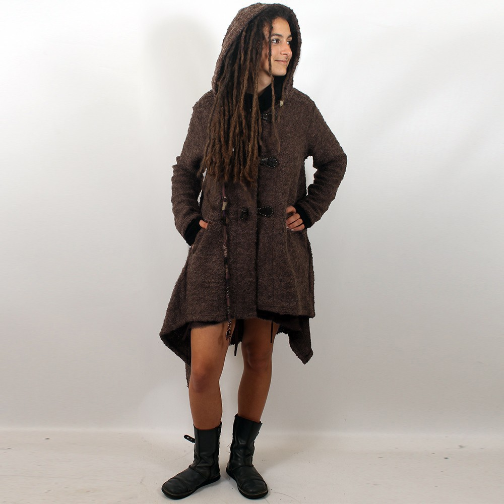 """Sadhana\"" Jacket, Brown"