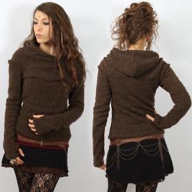 "\""Sadiva\"" pullover, Brown"